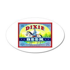 North Carolina Beer Label 1 22x14 Oval Wall Peel