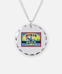 North Carolina Beer Label 1 Necklace Circle Charm