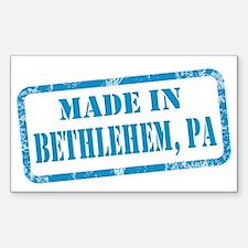 MADE IN BETHLEHEM Sticker (Rectangle)