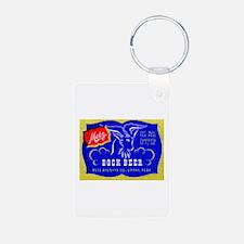 Nebraska Beer Label 1 Keychains