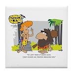 Tarzan MD - Smoking Twigs Tile Coaster