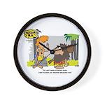 Tarzan MD - Smoking Twigs Wall Clock