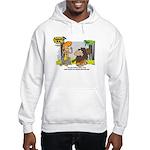 Tarzan MD - Smoking Twigs Hooded Sweatshirt