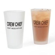 Crew Chief Drinking Glass