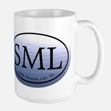 SML Smith Mountain Lake Large Mug