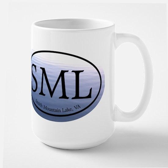 SML Smith Mountain Lake Large Mug