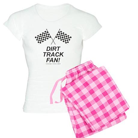 Checker Flag Dirt Women's Light Pajamas