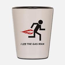 Gas Man Shot Glass