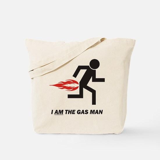 Gas Man Tote Bag