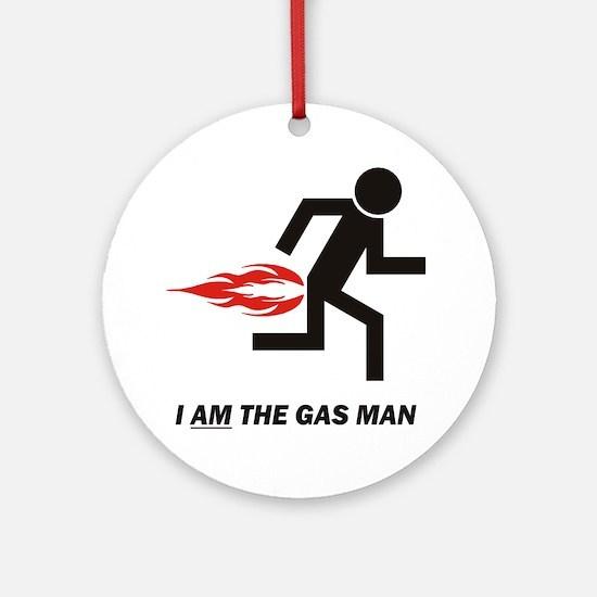 Gas Man Ornament (Round)