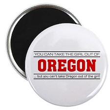 'Girl From Oregon' Magnet