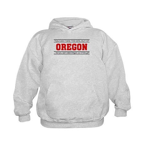 'Girl From Oregon' Kids Hoodie