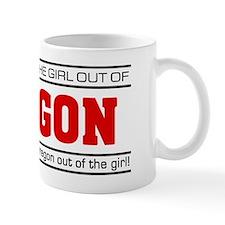 'Girl From Oregon' Mug
