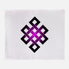 Cute Coexist symbol Throw Blanket