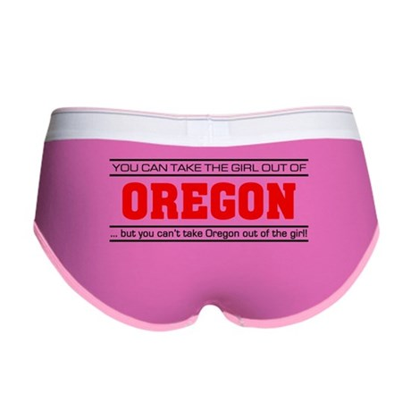 'Girl From Oregon' Women's Boy Brief