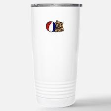 Cairn Terrier n Ball Stainless Steel Travel Mug