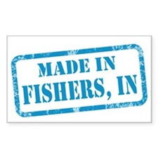 MADE IN FISHERS Decal