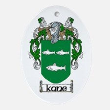 Kane Coat of Arms Oval Ornament