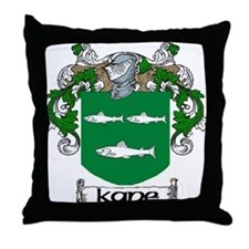Kane Coat of Arms Throw Pillow