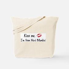 Kiss Me: Navi Mumbai Tote Bag