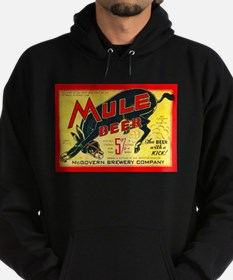 Missouri Beer Label 2 Hoodie (dark)