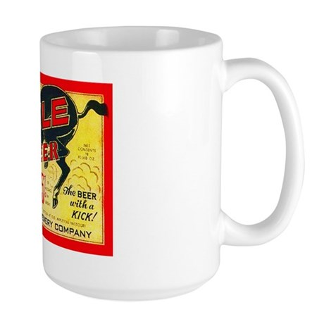 Missouri Beer Label 2 Large Mug