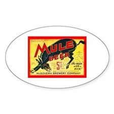 Missouri Beer Label 2 Decal