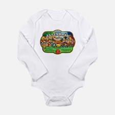 Wisconsin Beer Label 6 Long Sleeve Infant Bodysuit