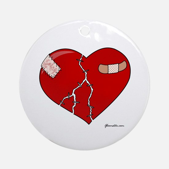 Trusting Heart Ornament (Round)