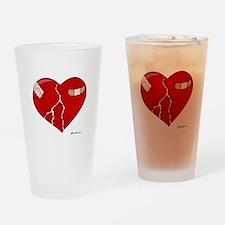 Trusting Heart Drinking Glass