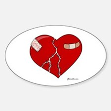 Trusting Heart Decal