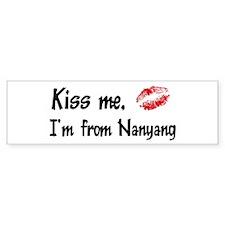 Kiss Me: Nanyang Bumper Bumper Sticker