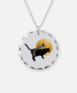Witch Squirrel Cat Necklace