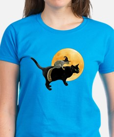 Witch Squirrel Cat Tee