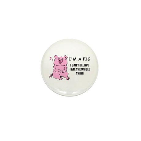 I'M A PIG Mini Button (10 pack)