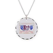 Wisconsin Beer Label 10 Necklace