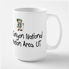 Hike Glen Canyon (Boy) Large Mug