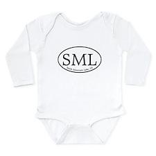SML Smith Mountain Lake Long Sleeve Infant Bodysui