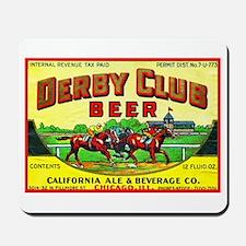Illinois Beer Label 10 Mousepad
