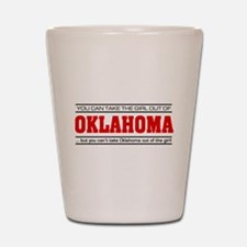 'Girl From Oklahoma' Shot Glass