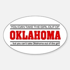 'Girl From Oklahoma' Decal