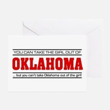 'Girl From Oklahoma' Greeting Card
