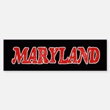 Maryland Vintage Bumper Bumper Bumper Sticker