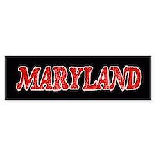 Maryland Vintage Bumper Bumper Sticker