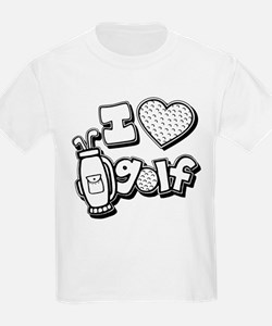 I Love Golf T-Shirt
