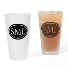 SML Smith Mountain Lake Drinking Glass