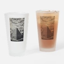 Egyptian Pyramid Drinking Glass