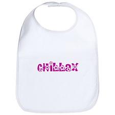 Chillax_Pink Bib