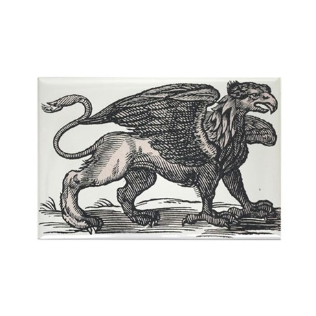 Griffin Rectangle Magnet