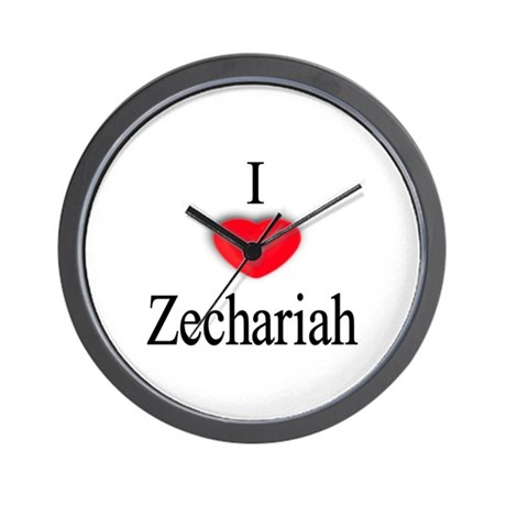 Zechariah Wall Clock